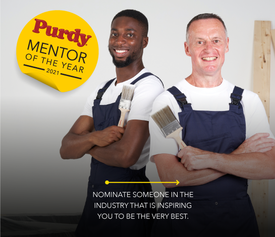 Nominate someone in the industry that is inspring you to be the very best.